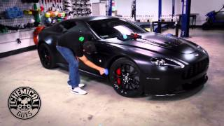 How To Protect Matte Paint - Chemical Guys JetSeal Matte on Aston Martin V12 Vantage