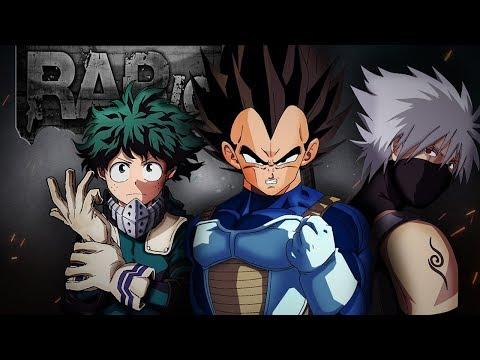 "Rap Motivação, Sem Temer a Dor | Vegeta, Midoriya e Kakashi | VG Beats ""Prod. by Shuka4Beats"""