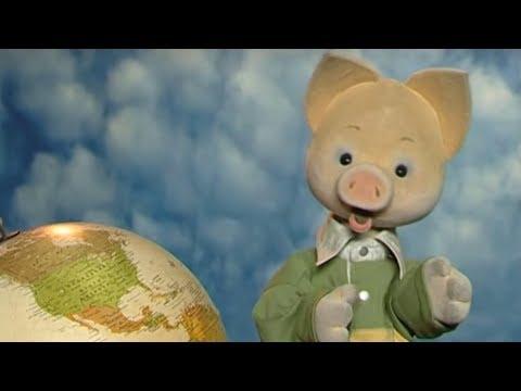 Кругосветное путешествие вместе с Хрюшей - ЮЖНАЯ АМЕРИКА -  Познавательная география для детей