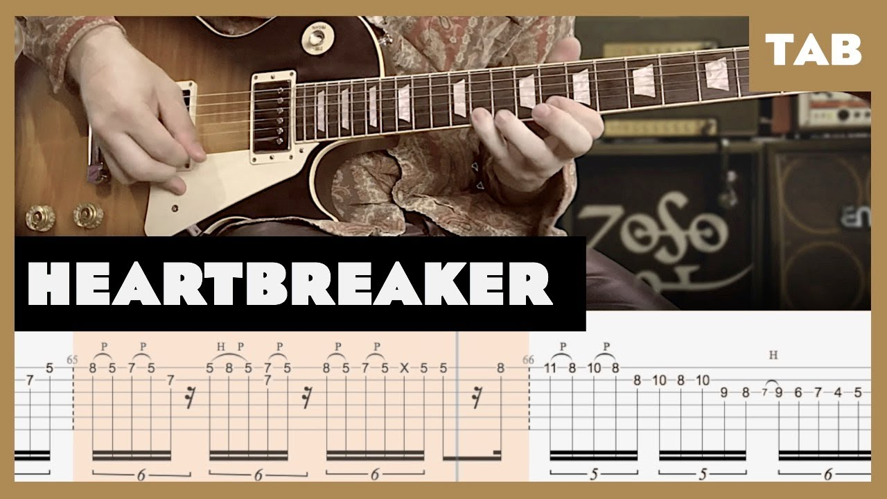 Heartbreaker/Living Loving Maid Cover | Guitar Tab | Lesson | Tutorial