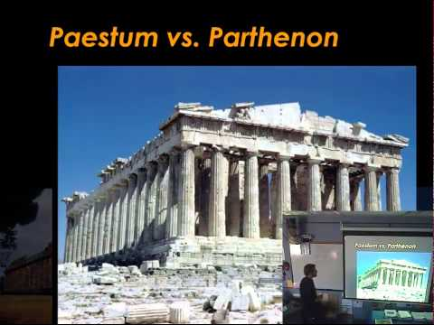 10.02.14 P.1 APAH: Classical Greece and Golden Proportion in Architecture and Sculpture