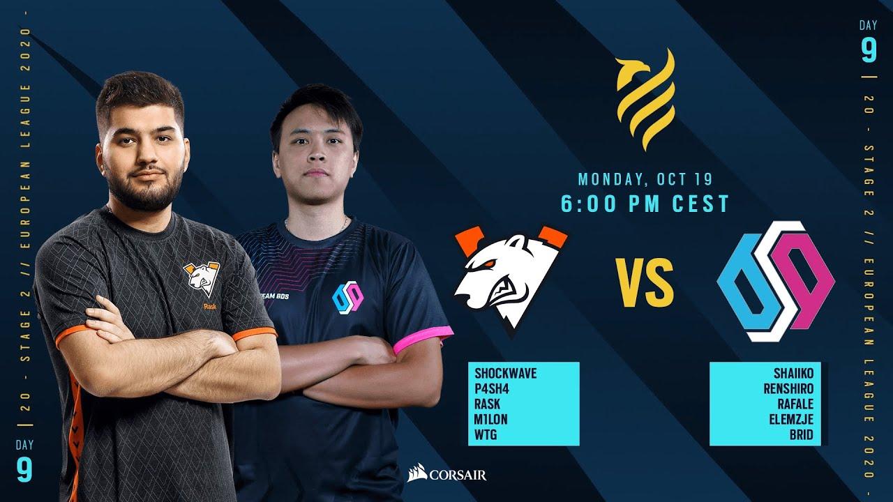 Virtus.Pro vs BDS Esport // Rainbow Six European league 2020 - Stage 2 - Playday #9