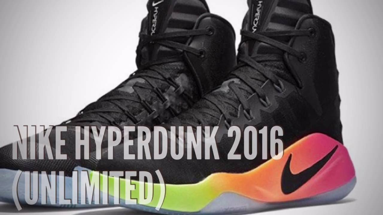 38cdbe3f3375 NIKE HYPERDUNK 2016 (UNLIMITED)  SNEAKERS T - YouTube