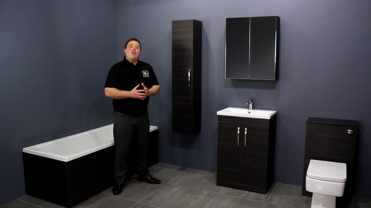Manhattan Modular Bathroom Furniture Collection