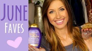 June Favorites || Makeup, Hair, Food & Bloopers!