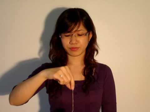 Giới thiệu các con lắc thường dùng - Cảm xạ học Việt Nam - thầy Dư Quang Châu