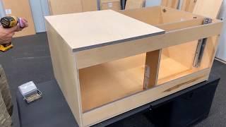 Cabinotch Assembly-Base Blind Corner Cabinet