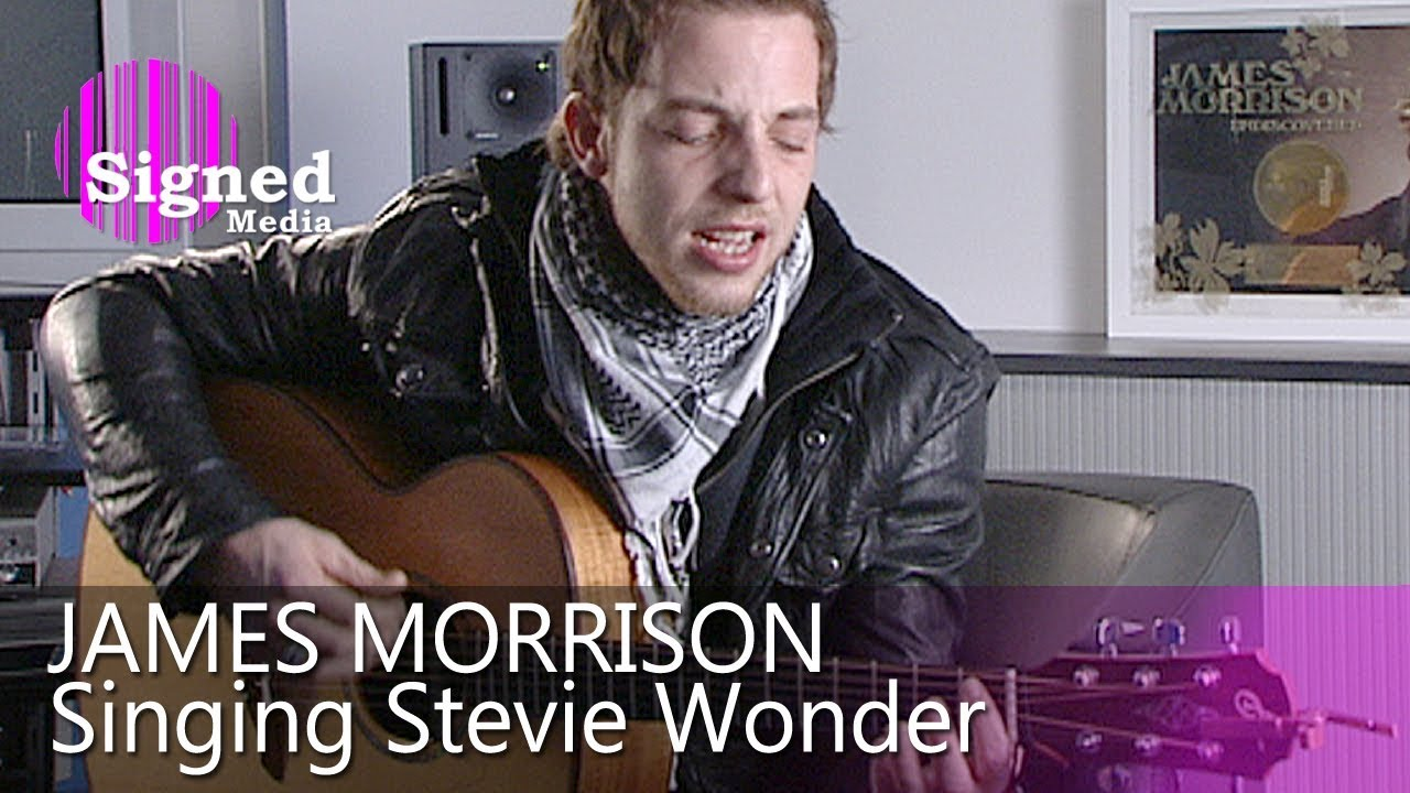 James Morrison singing his idols: Stevie Wonder, Van Morrison & Ray LaMontagne