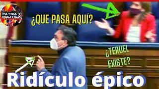 ✳️DIPUTADO de 'TERUEL' hace 👉EJERCICIOS en las escaleras del CONGRESO mientras SUBE la LUZ en España