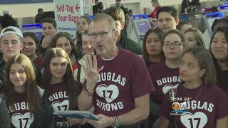 Stoneman Douglas Students Head To D.C. For March For Our Lives