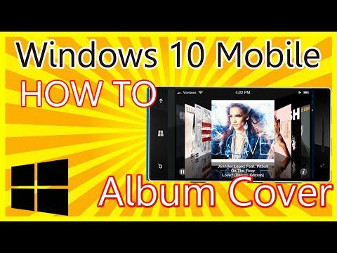 Windows 10 Mobile - Musik Cover bzw Album Cover anzeigen