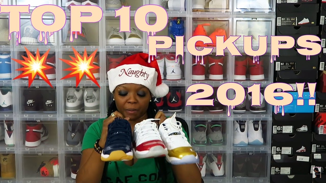 Top 10 Pickups of 2016 - YouTube