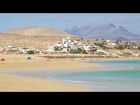Puerto del Rosario, Fuerteventura, Canary Islands, Spain. TRAVEL VIDEO
