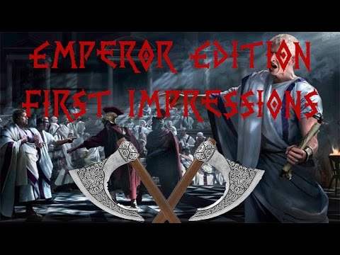 Rome II - Emperor Edition First Impressions |