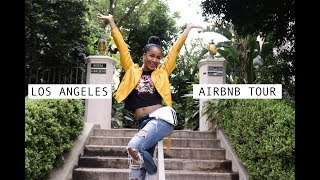 Gambar cover LOS ANGELES AIRBNB TOUR!