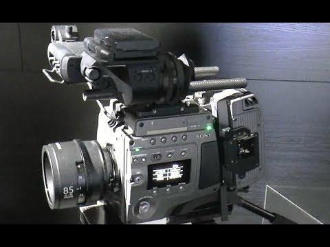 Sony F65 8K Camera & Sony Venice 6K Camera