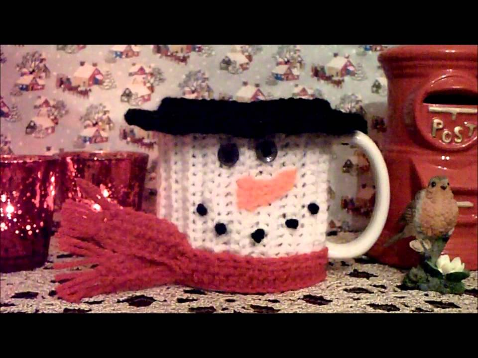 Crochet Christmas Mug Cozy Youtube