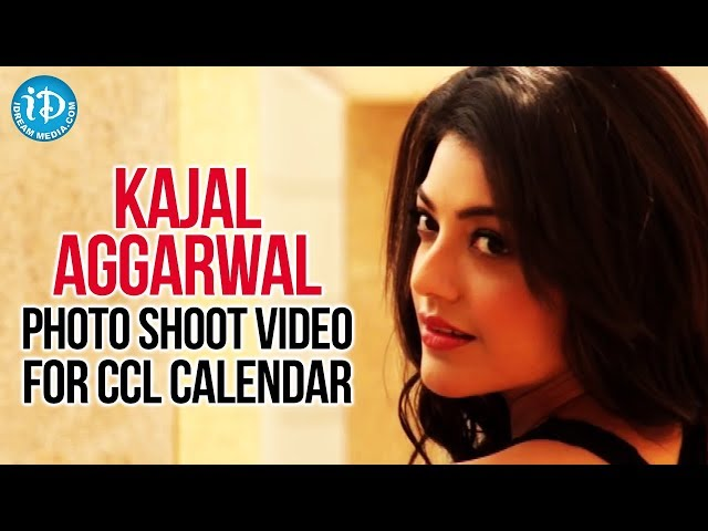 Kajal Aggarwal Latest Hot Photo Shoot Video For CCL Calendar Travel Video