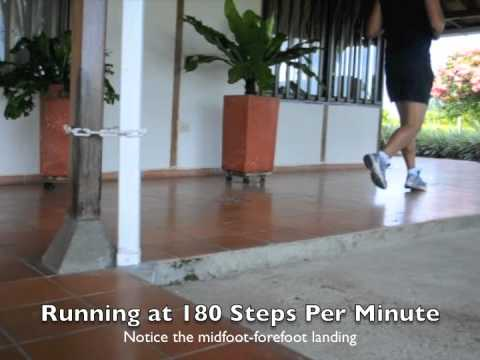 Running at 180 Steps Per Minute