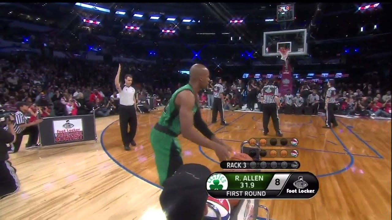 ray allen shooting formhd youtube