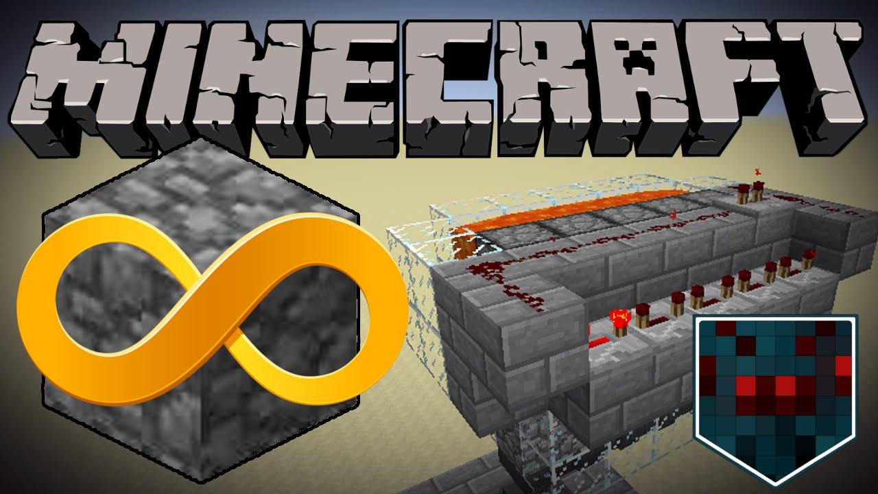 Minecraft Fastest Cobble Generator Tutorial Youtube Three Way Switch