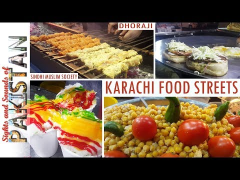 Are you hungry? Must visit Karachi Street Food Markets (4K)