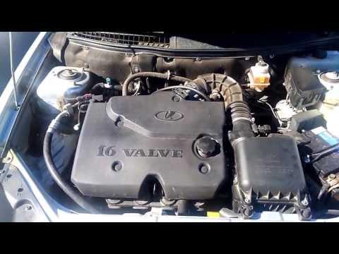 Стук поршневой 126-го двигателя Лада Приора