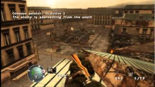 Old Stuff: Sniper Elite gameplay [Xbox, 2005]