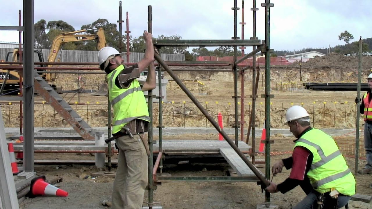 Scaffolding Training Video   YouTube
