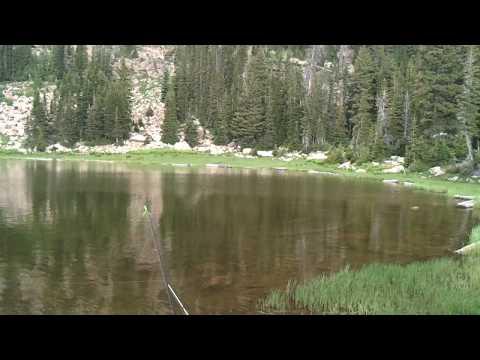Fishing at Moosehorn Lake - Unita Forest