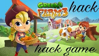 How to hack green farm 3 in ( hindi ) without internet and without hacking app 100% working