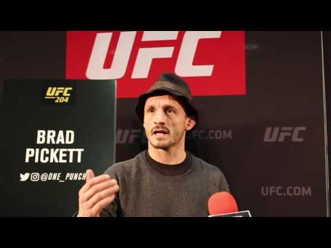 Interview with Brad Pickett ahead of UFC 204