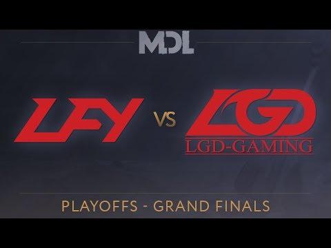 LFY vs LGD Game 1 - MDL 2017 Grand Finals - @GoDz @DakotaCox @KBBQ