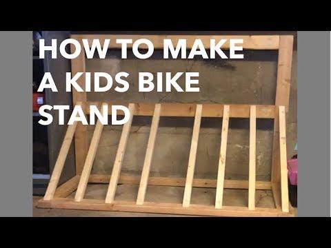 How to Make a Kids Bike Stand