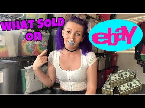 SOLD!!! Part Time Reseller- What SOLD on eBay January 2018 | Make extra Money $$$ Side hustle