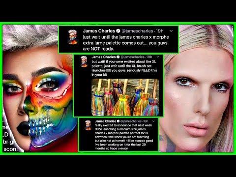 Jeffree Star CANCELS James Charles Morphe Collab thumbnail