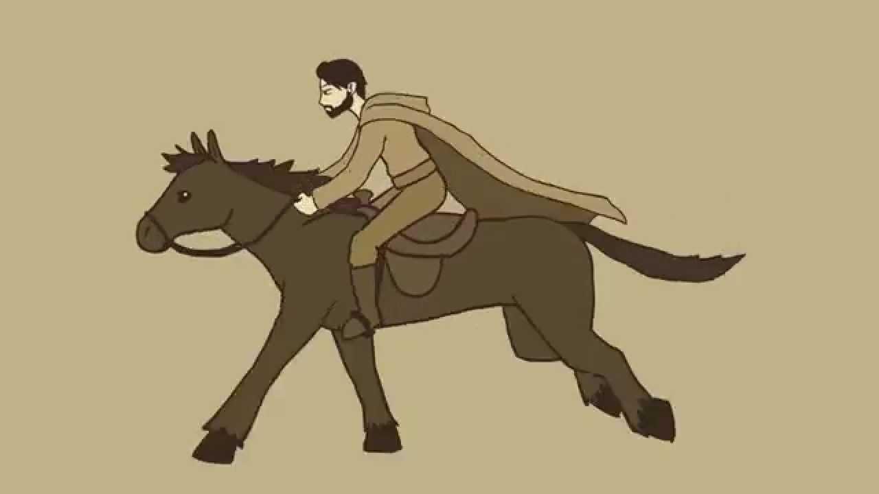 Horse Riding Run Cycle Animation (Ciclo Cavalgando Cavalo) - YouTube for Animation Horse Running  568zmd