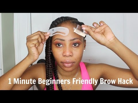 EYEBROWS HACKS | EASY, QUICK AND BEGINNERS FRIENDLY