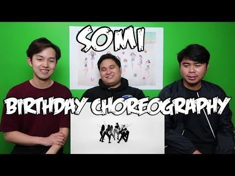 SOMI - BIRTHDAY CHOREOGRAPHY VIDEO REACTION (FUNNY FANBOYS)