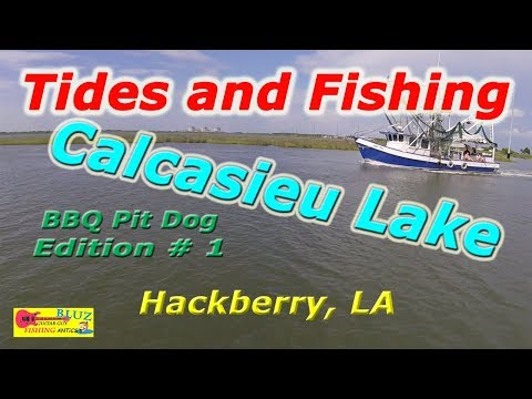 Tides And Fishing For Redfish With Rob Of BBQ Pit Dog Channel - Calcasieu Lake Fishing