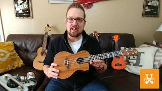 Luna High Tide Concert Koa Ukulele Review and Strumming