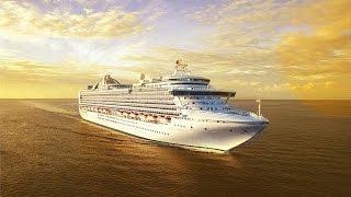 Обзор лайнера Crown Princess компании Princess Cruises от FOUR GATES UKRAINE