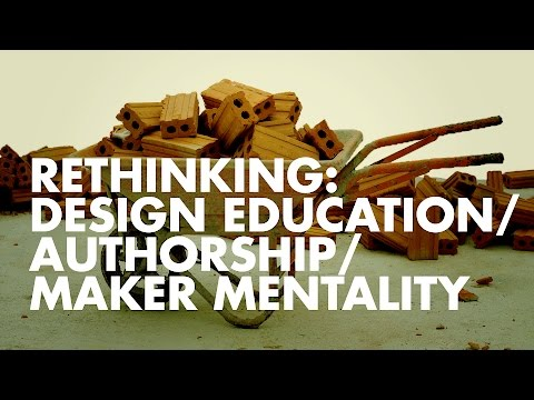 Rethinking Design Education 2016