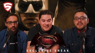 Batman v Superman - Exclusive Sneak Reaction!