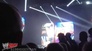 WWE Live 2013 Intro Adelaide & And Zack Ryder Entrance