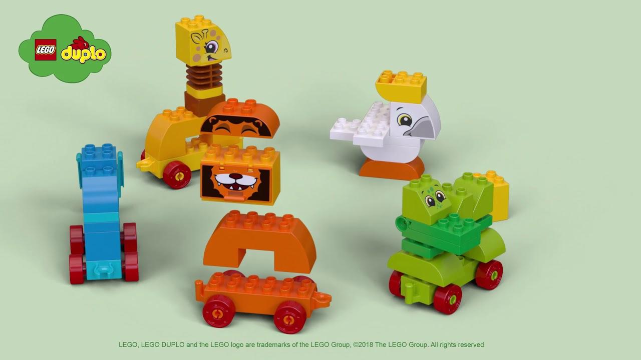 My First Animal Brick Box - LEGO DUPLO - 10863 - Product Spin - YouTube 0ecbb85015f1