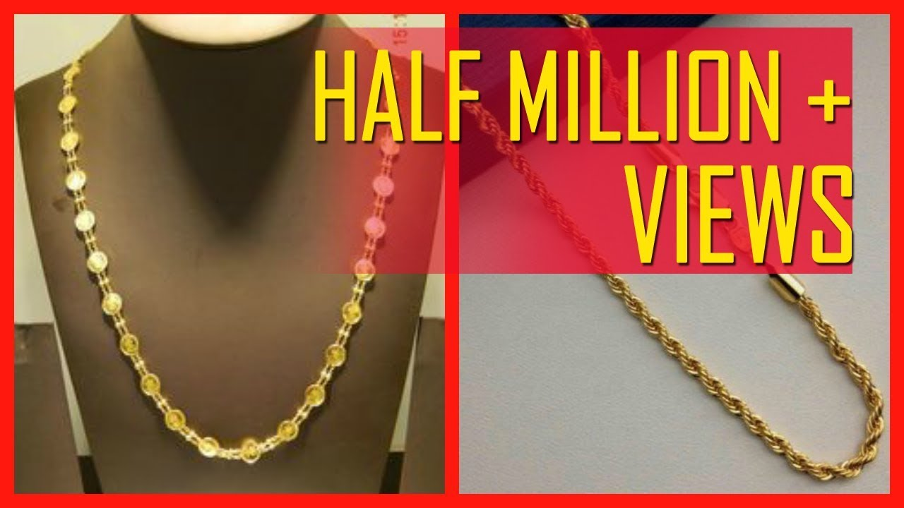 10 Gram Gold Chain Designs With Price Youtube