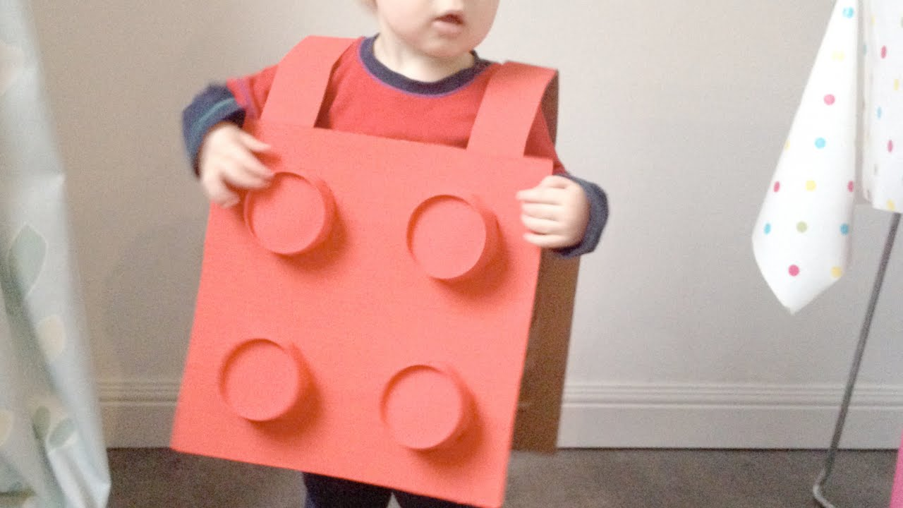 & Make a Toddler Lego Block Costume - DIY Crafts - Guidecentral - YouTube