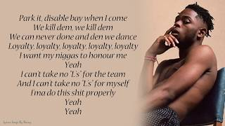 Yxng Bane  - Loyalty | Lyrics Songs