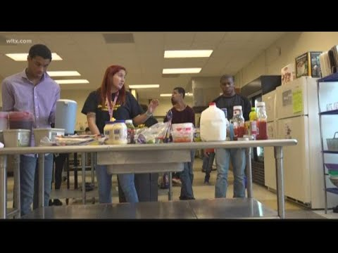 A deli at Irmo high school makes everything from scratch
